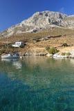 Littoral d'île de Kalymnos Photo libre de droits