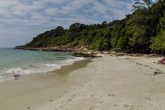 Littoral d'île de Samet Image libre de droits
