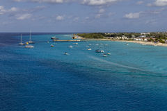 Littoral d'île grande de Turc Image stock