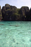 Littoral d'îles de phi de phi Images libres de droits