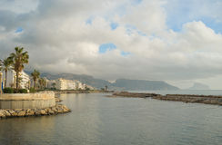 Littoral d'Altea, Costa Blanca Image stock