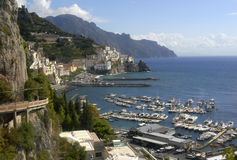 Littoral d'Amalfi Images stock