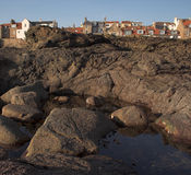 Littoral d'Anstruther Image libre de droits