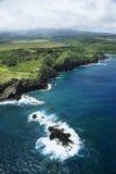 Littoral d'Hawaï. Image libre de droits