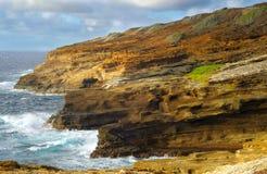 Littoral d'Oahu Photos libres de droits