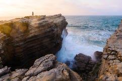 Littoral d'océan Photo libre de droits