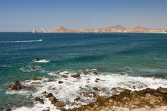 Littoral de Cabo San Lucas images stock