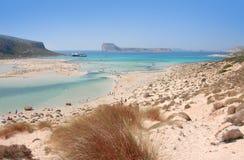 littoral de Crète Photographie stock