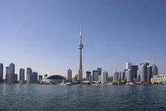 Littoral de journée de Toronto Images libres de droits