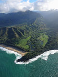 Littoral de Kauai Photographie stock