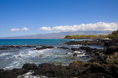 Littoral de Kona Images stock