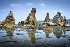 Littoral de Kushimoto, Japon Photo libre de droits