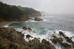 Littoral de l'océan pacifique Photo stock