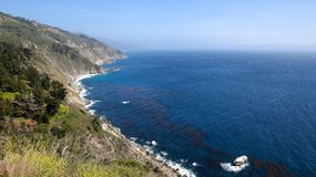 Littoral de la Californie Images stock