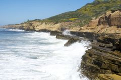 Littoral de la Californie Photos stock