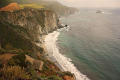 Littoral de la Californie Photographie stock