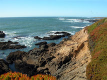 Littoral de la Californie Photo stock