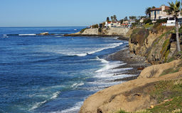 Littoral de la Californie Photographie stock libre de droits