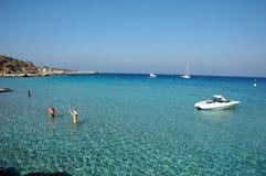 Littoral de la Chypre Photographie stock libre de droits