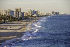 Littoral de la Floride en hiver Photo libre de droits