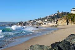 Littoral de Laguna Beach Photo stock
