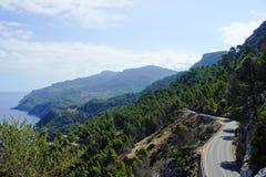 Littoral de Majorque Photo libre de droits