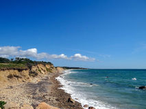 Littoral de Martha's Vineyard images stock