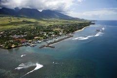 Littoral de Maui. Photographie stock libre de droits