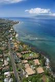 Littoral de Maui. Photos libres de droits
