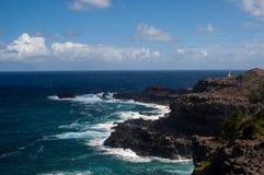 Littoral de Maui Photo stock