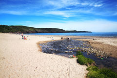 Littoral de Pembrokeshire Photo stock