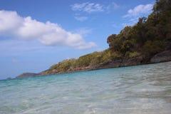Littoral de plage Photos stock