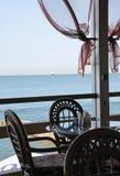 littoral de restaurant Photos libres de droits