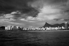 Littoral de Rio de Janeiro Photos libres de droits