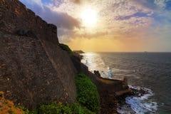 Littoral de San Cristobal Image libre de droits