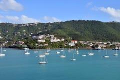 Littoral des Îles Vierges américaines photo libre de droits