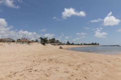 Littoral du sud - natal, RN, Brésil Photographie stock
