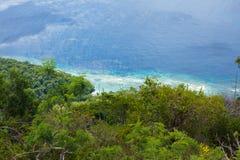 Littoral du Timor oriental Photos libres de droits