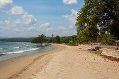 Littoral du Timor oriental Photographie stock