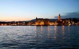 littoral en Adriatique image libre de droits