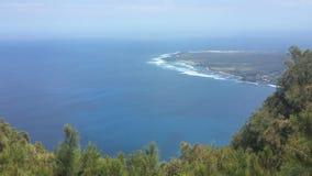 Littoral hawaïen Images libres de droits