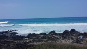 Littoral hawaïen Image libre de droits