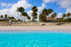 Littoral la Floride USA de plage de Palm Beach Photo stock