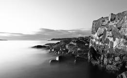 littoral Norvège Image libre de droits