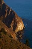 1 littoral Pacifique de route Images libres de droits