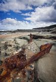 Littoral rocheux Image libre de droits