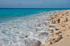Littoral rocheux Images stock