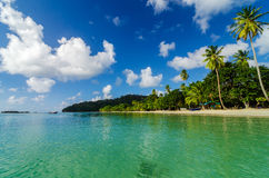 Littoral tropical Image libre de droits