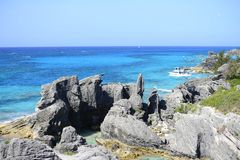 Littoral tropical photographie stock