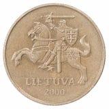 50 Lituânia iluminaram-se Imagens de Stock